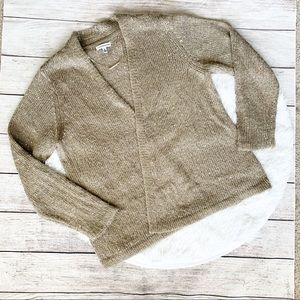 Croft & Barrow Knit Sweater with Sparkling Sequins